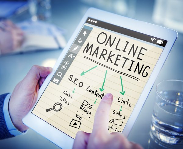 Blog post about online marketing